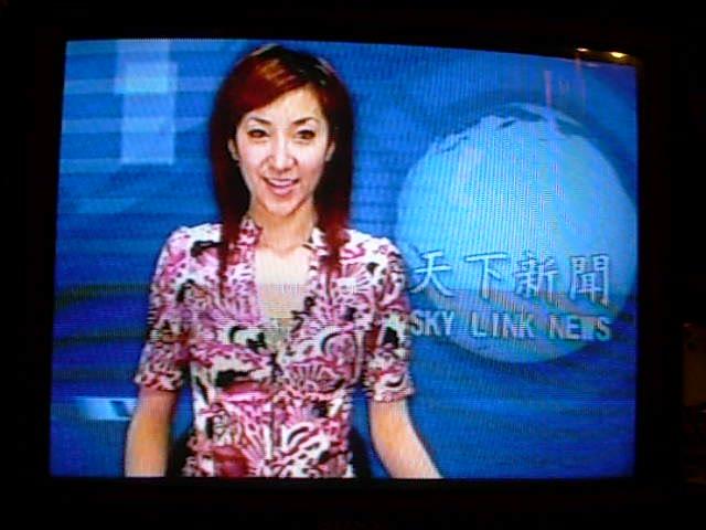 Sky Link News broadcast